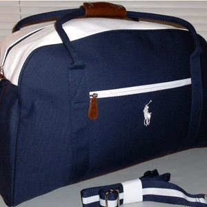 Polo Ralph Lauren Duffel Bag Weekender Travel NEW